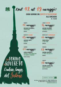 DAL 12 AL 19 MAGGIO : DA TORINO A ROVERETO, L'OMBRA LUNGA DEL SALONE